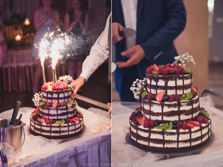 fotografia ślubna podlasie ślub wesele białystok astoria tort weselny