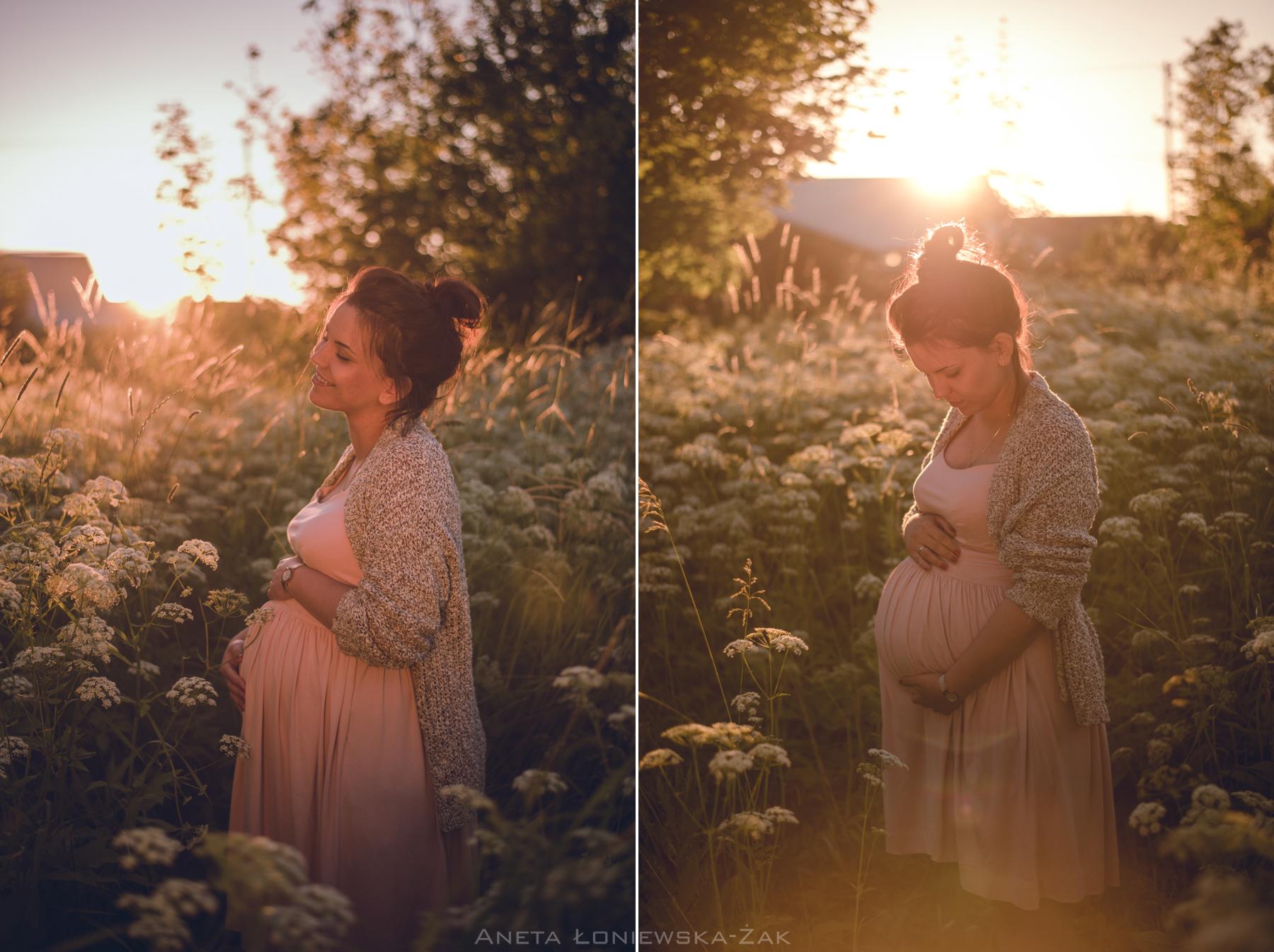 fotografia ciążowa brzuszkowa podlasie białystok ciąża