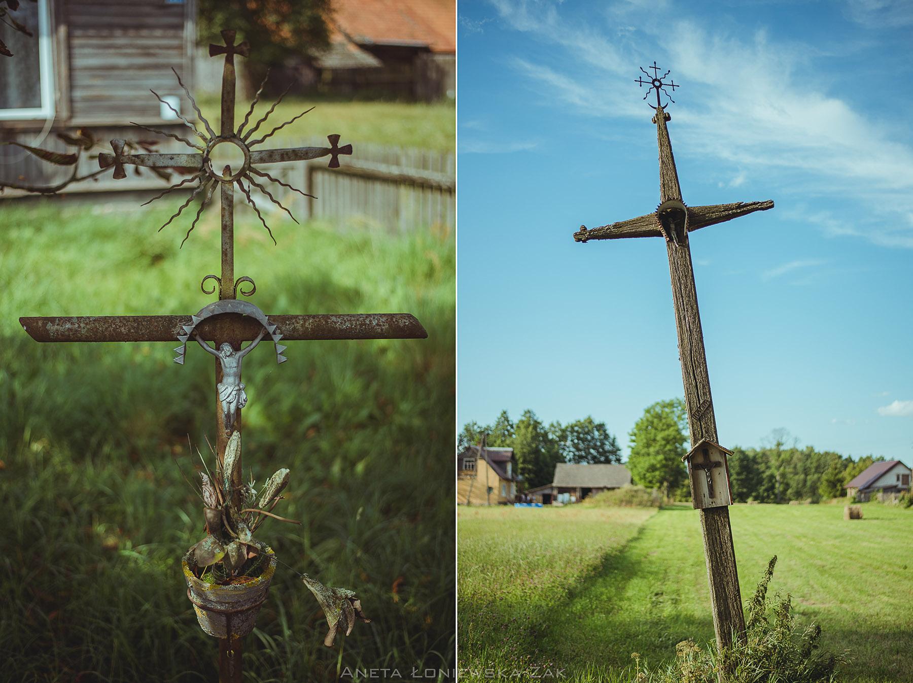 fotografia przyrodnicza, puszcza knyszyńska, podlasie, kopisk, krzyż