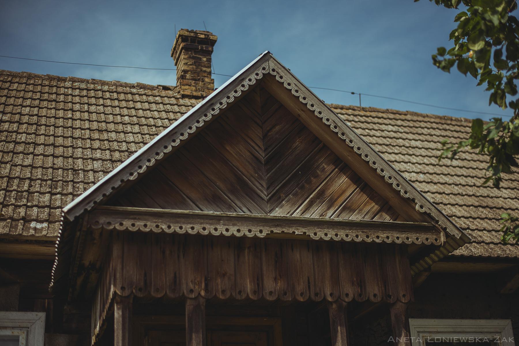 fotografia przyrodnicza, puszcza knyszyńska, podlasie, kopisk, budownictwo drewniane, drewniane zdobienia
