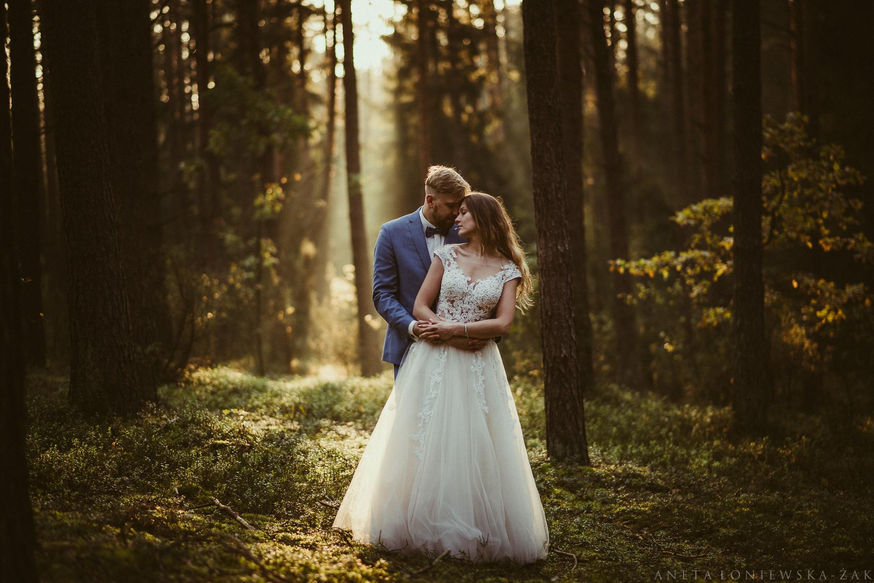 Plener ślubny Emilki i Michała