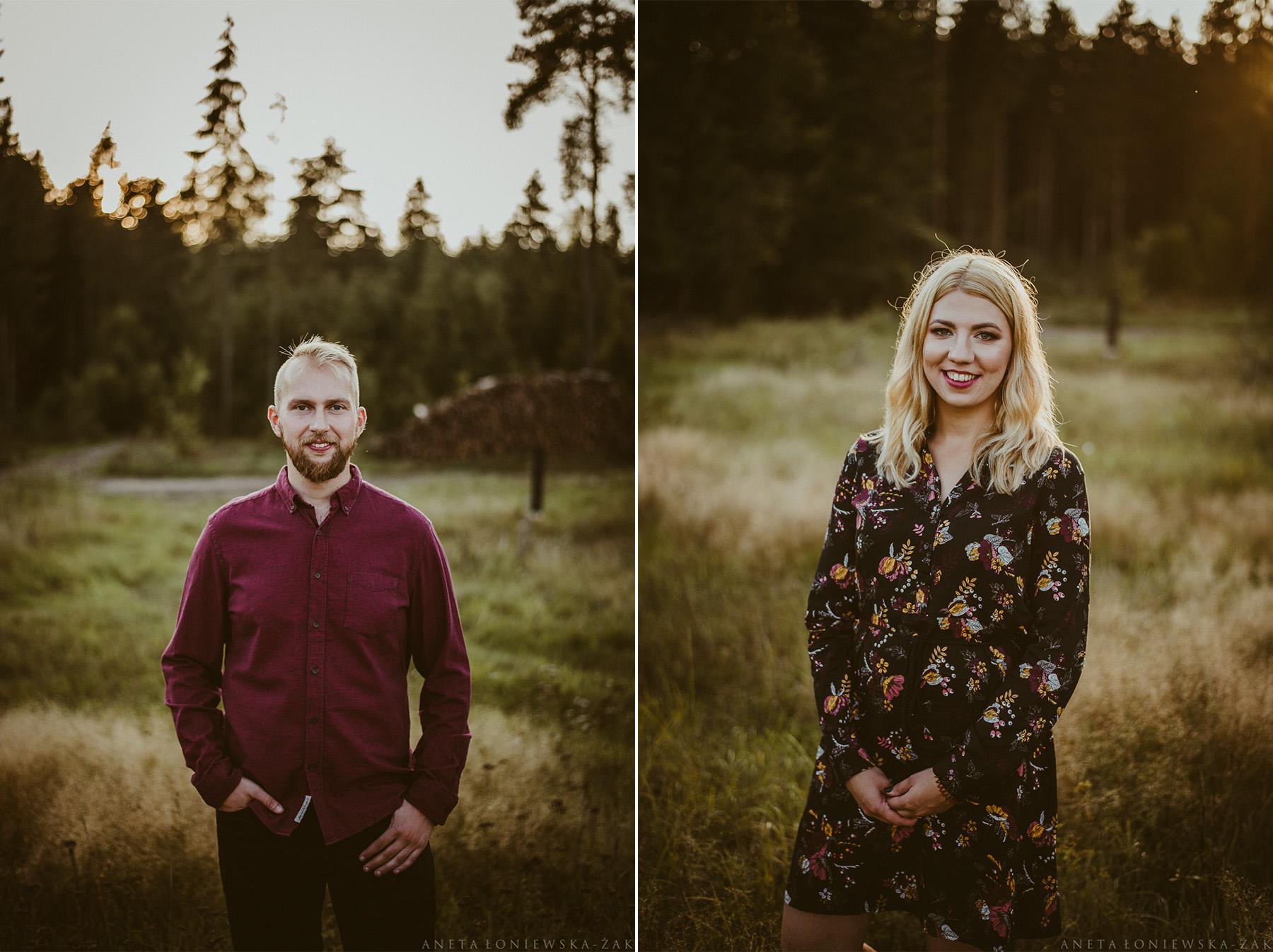 fotograf ślubny białystok, fotograf ślubny podlaskie, sesja narzeczeńska białystok, sesja narzeczeńska podlasie, puszcza knyszyńska